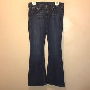 Lucky Brand Women's Zoe Jeans 4/27 Short Inseam.